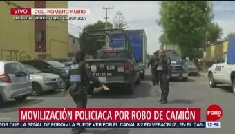 Roban camión y secuestran al chofer en la CDMX