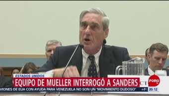 Foto: Mueller Interrogó Portavoz Casa Blanca Trama Rusa 15 Febrero 2019