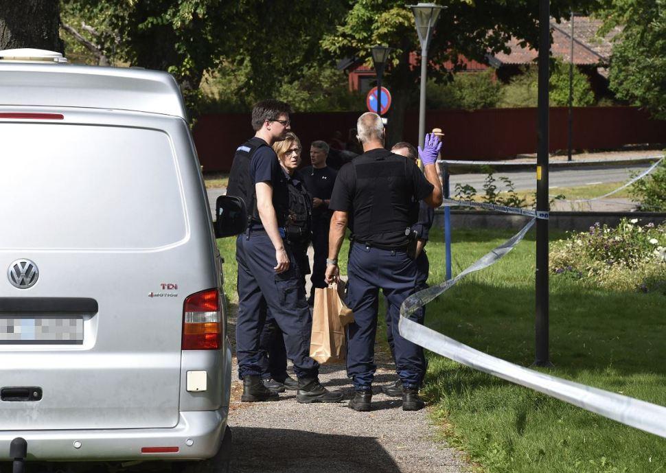 Foto: La policía sueca detuvo al autor del robo, 22 febrero 2019