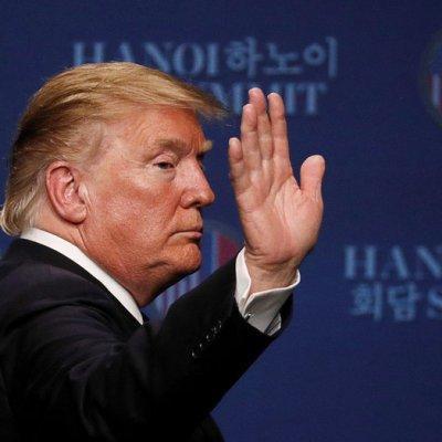 Trump: Me retiré de cumbre porque Kim me pidió levantar sanciones