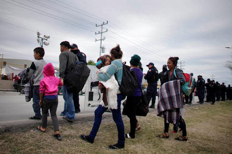 migrantes centroamericanos llegan arriaga chiapas