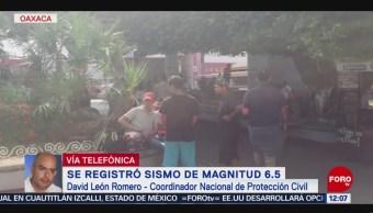 Saldo blanco en México tras sismo con epicentro en Chiapas