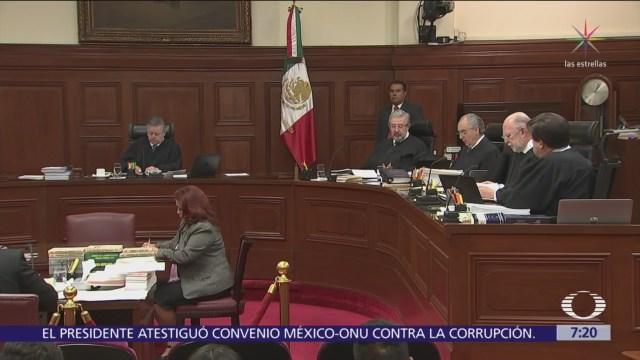 SCJN mantiene suspensión a Ley de Remuneraciones de Servidores Públicos