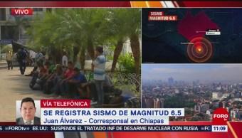 Se activa por segunda vez la alerta sísmica en Chiapas
