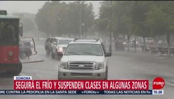 FOTO: Seguirá el frío y suspenden clases en algunas zonas en Sonora, 23 febrero 2019