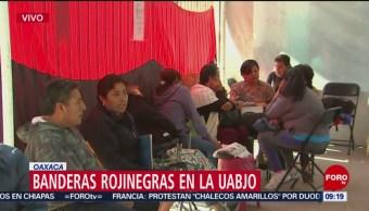 FOTO: Segundo día de huelga en la UABJO en Oaxaca, 2 febrero 2019
