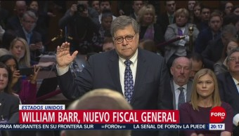 Foto: Senado Confirma William Barr Fiscal General EU 14 Febrero 2019