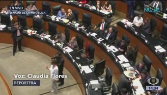 Foto: Senadores discuten dictamen para crear la Guardia Nacional