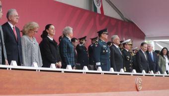 Foto: Claudia Sheinbaum, Jefa de Gobierno de la Ciudad de México acude al 106 Aniversario de la Marcha de la Lealtad en Chapultepec, el 9 de febrero de 2019