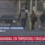Foto: Meteorólogos de Protección Civil en Chihuahua alertan que se mantienen temperaturas congelantes en zonas como la sierra Tarahumara