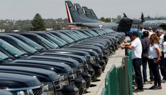 se subastaron 218 vehIculos oficiales en santa lucIa este fin de semana