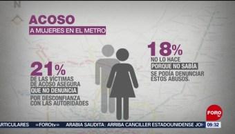 FOTO: Suben casos de acoso sexual en el STC Metro, 3 febrero 2019