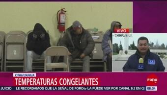 Suman 15 muertos por temperaturas congelantes en Chihuahua