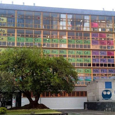 ¿Ya viste la tabla periódica gigante en la UNAM?