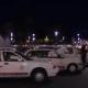 Foto: Taxistas protestan en la Plaza de la Constitución, 20 de febrero de 2019, Ciudad de México