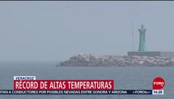 Foto: Temperatura récord en Veracruz