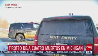 Foto: Tiroteo deja cuatro muertos en Michigan