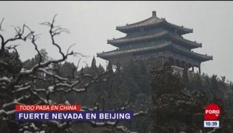 Foto: Todo Pasa En China: Tormenta de nieve en Beijín