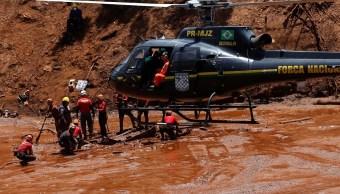 Foto: Los trabajadores de rescate continúan labores en Brumadinho, Brasil, 2 de febrero de 2019 (Reuters)