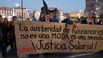 Foto: Huelga en la Universidad Autónoma Metropolitana, 9 febrero 2019