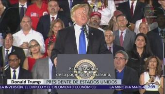 Trump reitera su apoyo a Guaidó