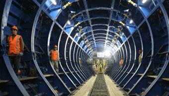 Túnel Emisor Oriente, Conagua, Twitter, @Notimex, 19 febrero 2019
