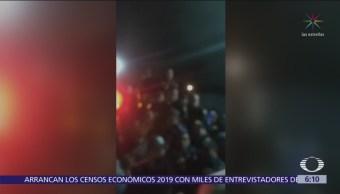 Turba golpea a presunto secuestrador en Xochimilco; muere en hospital