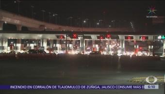Vacacionistas regresan a CDMX tras primer puente del año