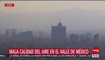 FOTO: Valle de México registra mala calidad de aire, 16 febrero 2019