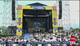 Foto: Concierto Venezuela Aid Live Colombia 22 de Febrero 2019