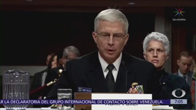 Venezuela tiene más generales que la OTAN, dice comandante de EU