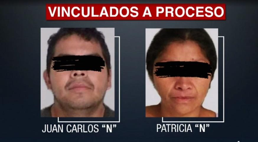 """Foto: Una jueza vincula a proceso penal a Juan Carlos Hernández y Patricia Martínez, conocidos como """"Monstruos de Ecatepec"""", febrero 3 de 2019 (FOROtv)"""