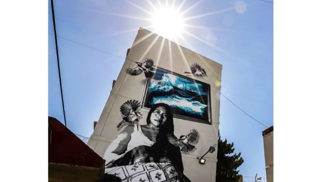 Foto: El colectivo oaxaqueño Lapiztola, inmortalizó a la actriz mexicana Yalitza Aparicio en la colonia Las Peñas de la alcaldía Iztapalapa, febrero 2 de enero de 2019 (Notimex)