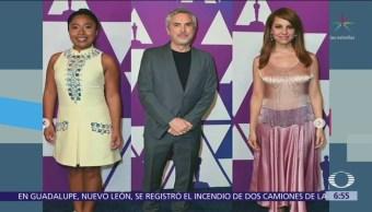 Yalitza Aparicio recibió felicitaciones en desayuno de premios Oscar