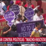 FOTO: 8M: Marchas a favor de la igualdad, 8 marzo 2019