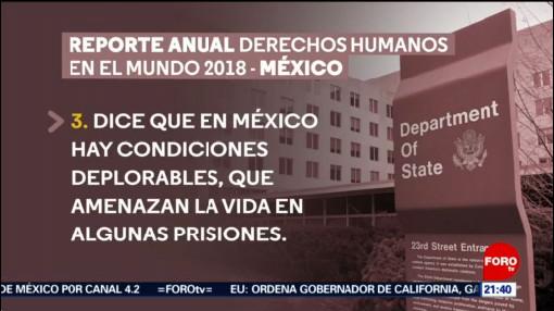 Foto: Delitos México No Son Investigados USA 13 de Marzo 2019