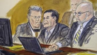 Foto: Abogados de El Chapo presentarán moción para nuevo juicio 26 marzo 2019