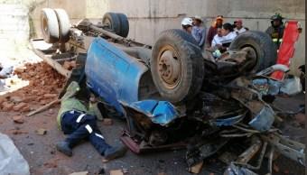 Foto: Accidente en Zacatecas, 25 de marzo 2019. Twitter @PCEstatalZac
