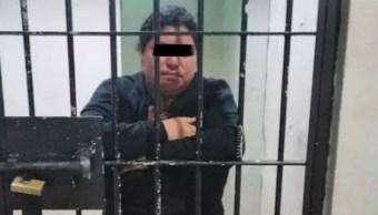Foto: María López, viuda desde hace tres años y sin hijos, fue detenida por acusaciones de adulterio en Chiapas, marzo 3 de 2019 (Foto: Chiapas Digital)