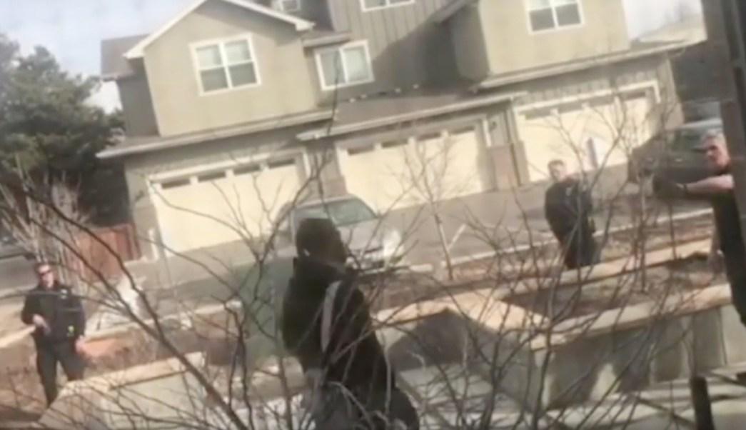 Foto Afroamericano Policías 6 Marzo 2019