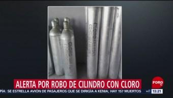FOTO: Alerta en 7 estados de México por robo de cilindro con cloro, 10 marzo 2019