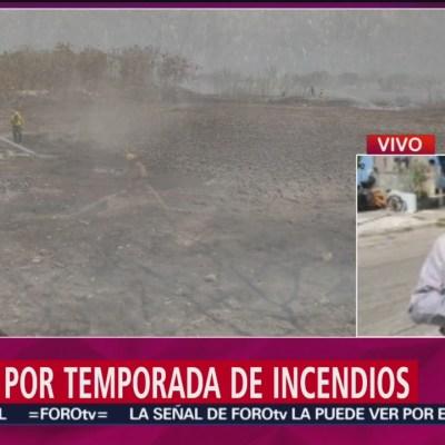 Alerta por la temporada de incendios en Yucatán