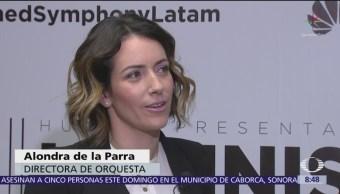 Foto: Alondra de la Parra se presenta con éxito en la CDMX