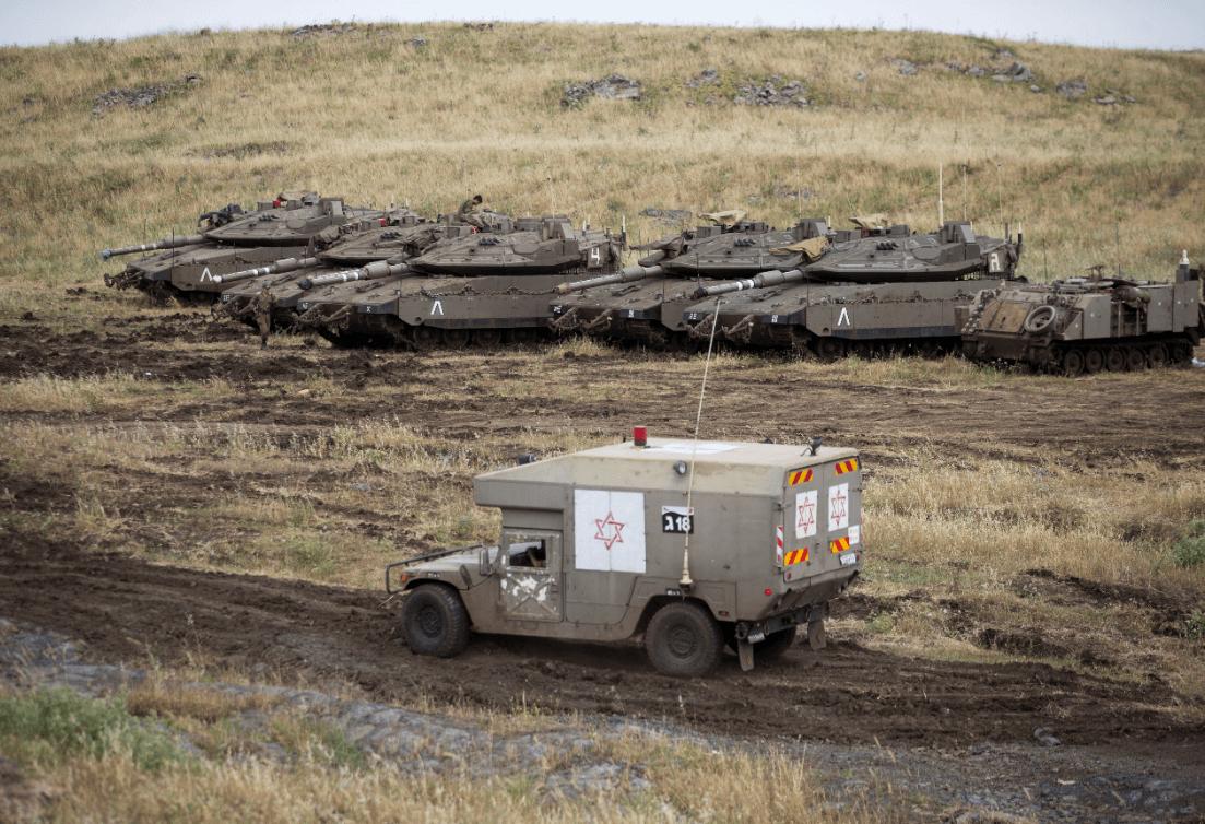 Foto: Altos del Golán, una zona bajo ocupación militar israelí , 10 de mayo de 2018, Israel