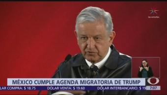 AMLO cumple agenda migratoria de Trump, según New York Times