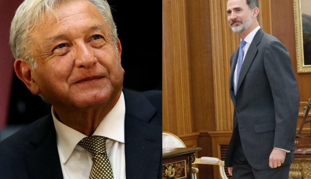 Carta de petición de disculpas de AMLO al rey de España desata reacciones