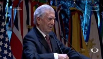 Foto: AMLO Equivocó Destinatarios Cartas Vargas Llosa 27 de Marzo 2019