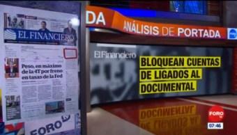 Análisis de las portadas nacionales e internacionales del 21 de marzo del 2019