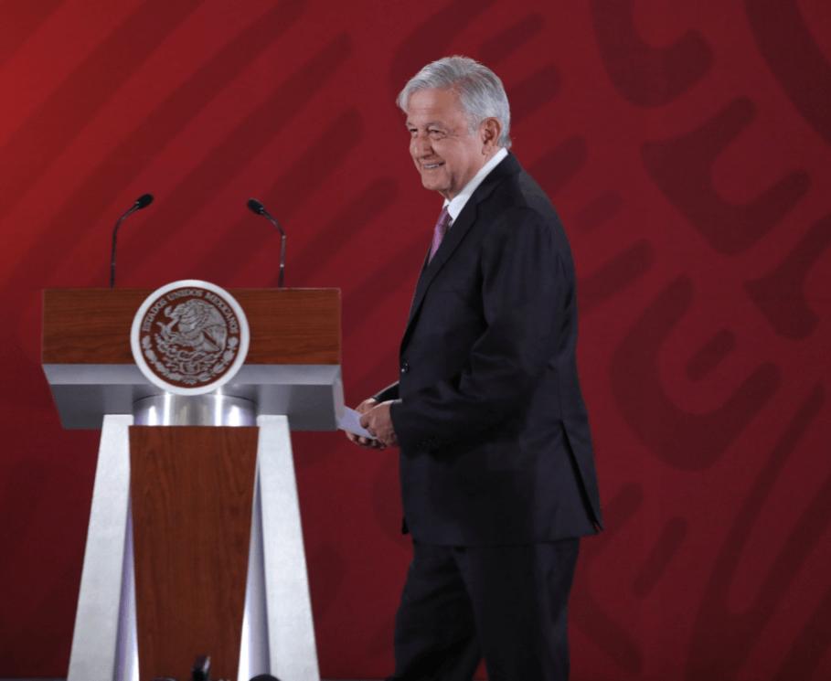 Foto: Andrés Manuel López Obrador, presidente de México, febrero de 2019, México
