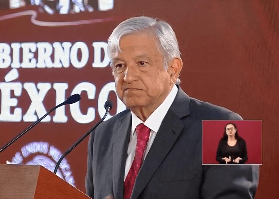 Foto: Andrés Manuel López Obrador, presidente de México, Ciudad de México, México